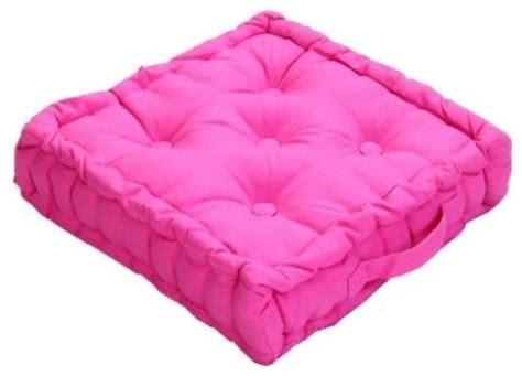 Pink Floor Pillow by Pink Floor Cushion Modern Decorative Pillows