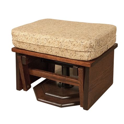 mission ottoman mission ottoman amish crafted furniture