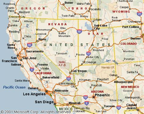 west america map knowcrazy 09 22 13
