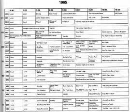 Television Schedule Tv Guide