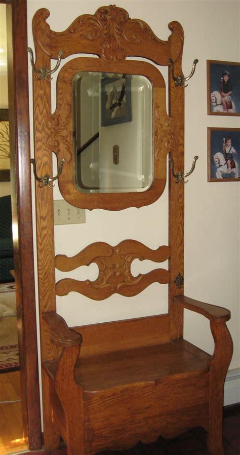 wohnzimmer 4 x 6 antique oak tree coat rack chair design