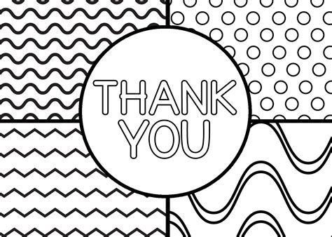 thank you coloring pages printable thank you cards for my s suitcase packed with creativity