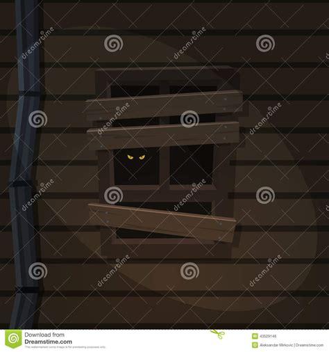 secret window house secret window stock vector image 43529146