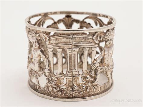 antiques atlas silver napkin ring birmingham 1899
