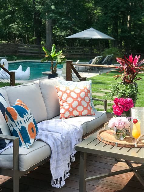 summer outdoor living   greenspring home