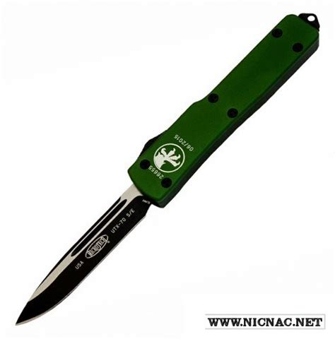 microtech utx 70 microtech utx 70 148 1od od green otf automatic knife