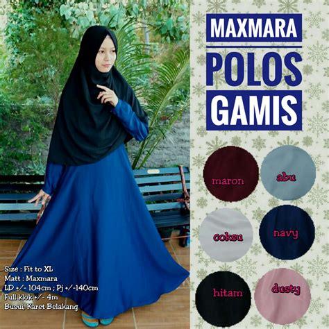 Promo Jilbab Segiempat Polos gamis maxmara polos sentral grosir jilbab kerudung i