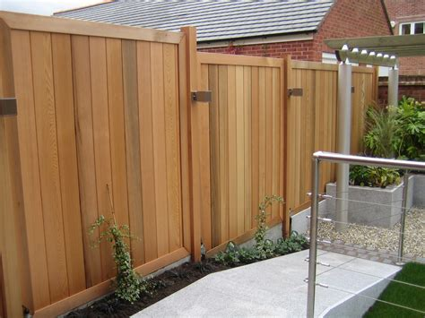 contemporary fence contemporary cedar fencing panels and posts with stainless