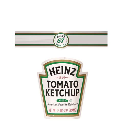 heinz label template american diner textures ketchup bottle label png