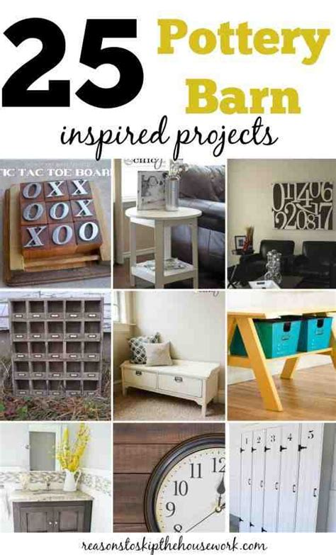 pottery barn diy projects 25 pottery barn inspired projects