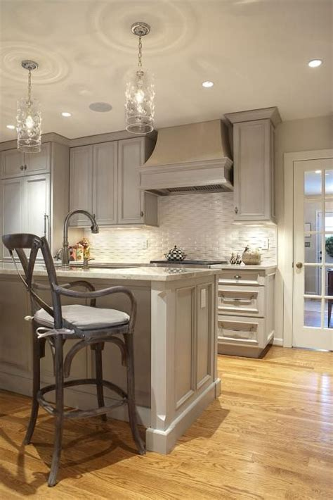 gray wash kitchen cabinets gray kitchen with gray washed cabinets paired with gray
