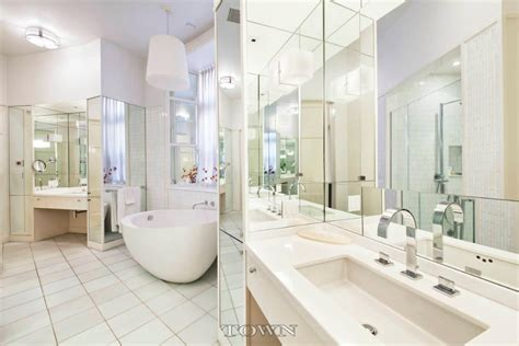 bathroom in central park live in a landmarked fairytale castle with round rooms and