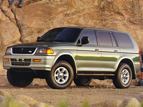 1998 mitsubishi montero sport 1998 mitsubishi montero sport overview cars