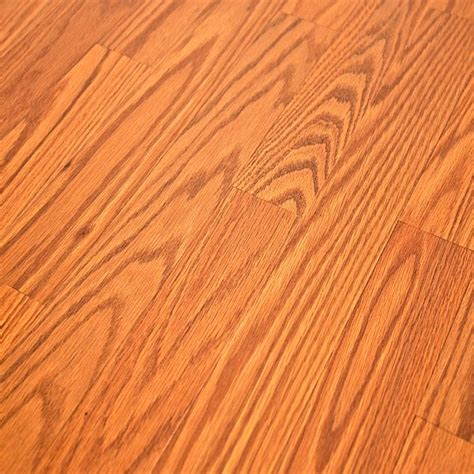 Laminate Flooring With Attached Underlayment Step Home Sound Butterscotch Oak Laminate Flooring Sfs023 2mm Underlayment Attached