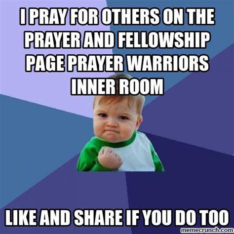 Prayer Meme - prayer warriors inner room