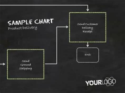free doodle powerpoint template flowchart doodles a powerpoint template from
