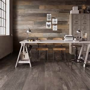 Cabin Kitchen Ideas wood look tile 17 distressed rustic modern ideas