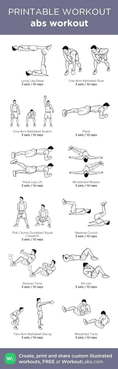 s fitness s abs workout 10 charts lifestyle by ps