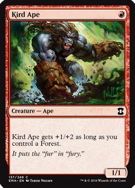 il gorilla testo gorilla di kird kird ape magic the gathering wiki
