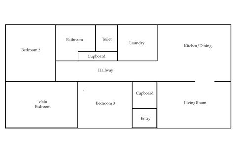 room floor plan template blank house template wattle cottage dining room building