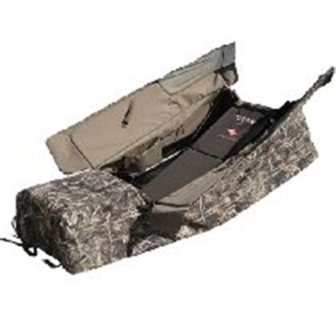 tanglefree landing zone layout blind snow cover avery power hunter youth blind field khaki waterfowl