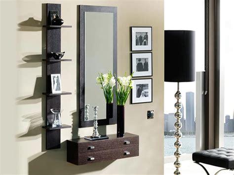 decoracion con espejos y repisas espejos modernos melamina muebles repisas s 320 00