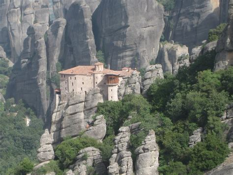 who designed house on the rock meteora greece world for travel