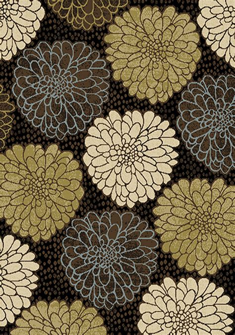 floral area rugs 5x8 transitional floral area rug 5x8 modern geometric carpet actual 5 2 quot x 7 2 quot ebay