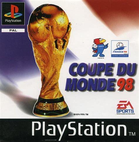 coupe du monde 98 sur playstation jeuxvideo