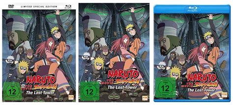 film naruto 2017 naruto shippuden the lost tower ab 10 4 2017 auf dvd und