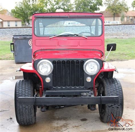 1950s Jeep 1950 Jeep Willys Truck