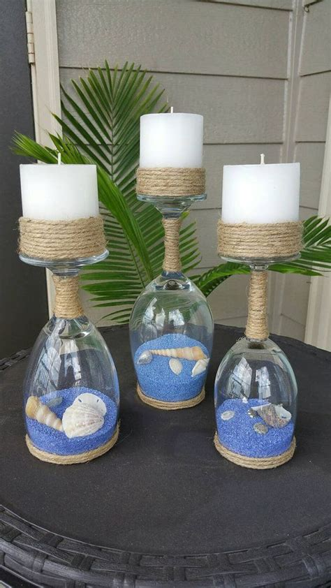 centerpieces craft 25 best ideas about glass candle holders on