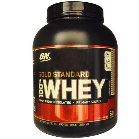 Terbatas Whey Gold Standard 5 Lbs Optimum Nutrition Gf677 optimum nutrition gold standard 100 whey cookies