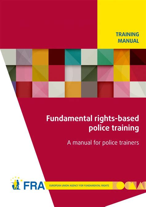 fundamental rights based police training a manual for