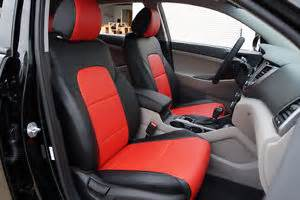 Seat Covers Tucson Hyundai Tucson 2016 Leather Like Custom Fit Seat Cover Ebay