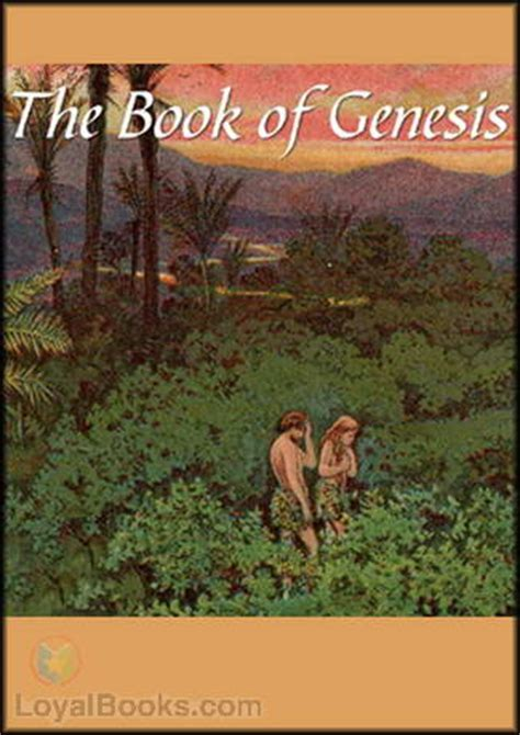 my book of genesis books the bible the book of genesis by unknown hebrew free