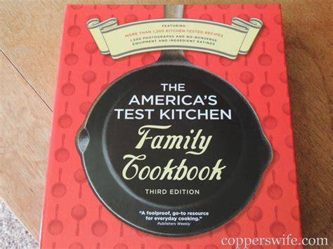 America S Test Kitchen Family Cookbook by A Week S Menu From America S Test Kitchen Cookbook