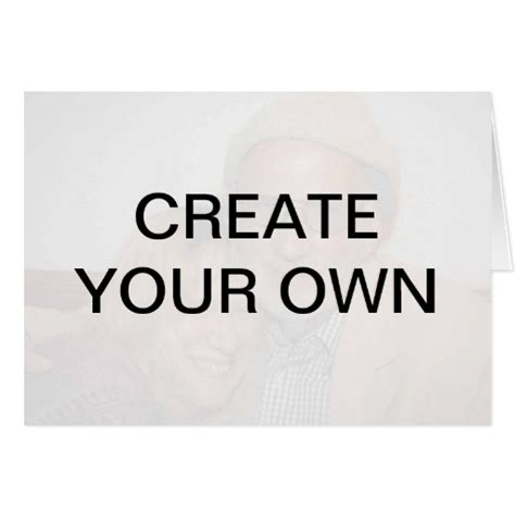 Make Your Own Gift Card - create your own greeting card zazzle