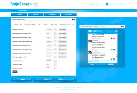 themes for facebook login page chatwing team now encourages web users to submit