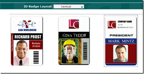 id card badge template how to make design your own id cards for free