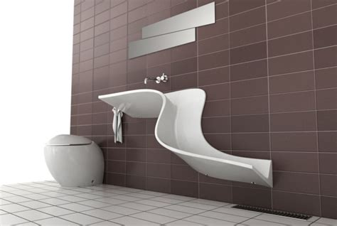 Blue And White Bathroom Floor Tiles - 41 designer waschbecken mit schwung und raffinesse