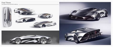 mercedes supercar concept mercedes hybrid supercar concept looks outlandish to say
