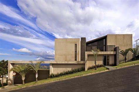 casas contempor 226 neas beautiful glasses and house concrete for homes