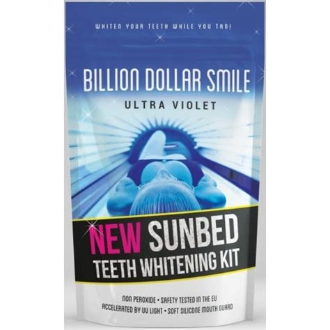 tanning bed teeth whitening scentsationalperfumes com buy billion dollar smile uv
