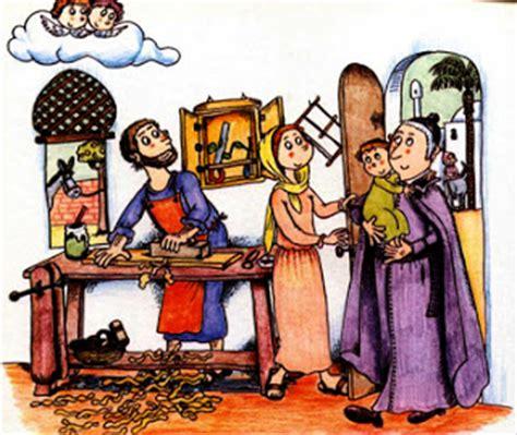 imagenes de la vida de jesus cuando era niño profeta de la familia dibujo de san jos 233 manyanet con