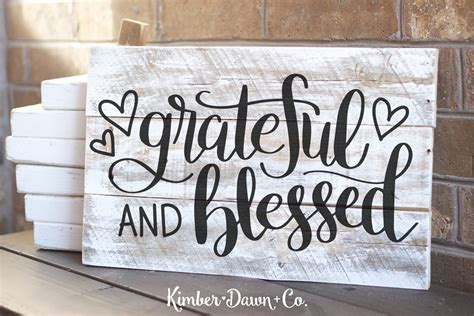 blessed images lettered grateful and blessed free svg cut file