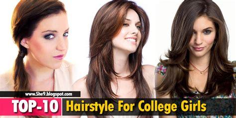 college hairstyles in rebonded hai top 10 hairstyles for college girls easy hairstyles for