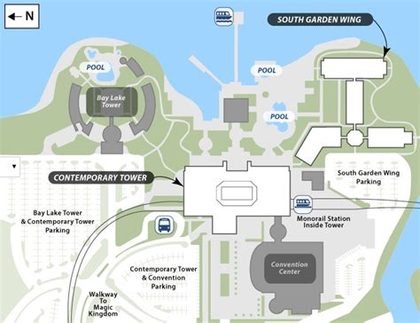 Disney Contemporary Resort Hospitality Suite Floor Plan - disney s contemporary resort