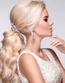 Galerry acconciature da sposa capelli lisci