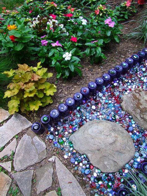 Pebble Mosaic Patio Around The Garden Sherry S Place